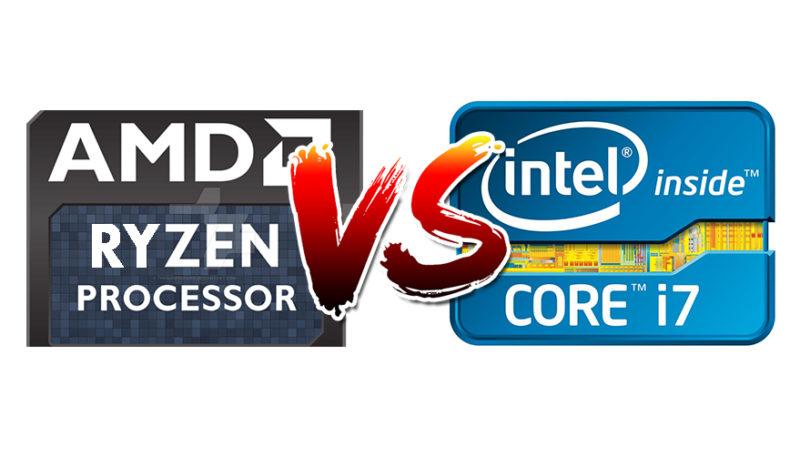 AMD Ryzen VS Intel Core-CPU wars – 1By8